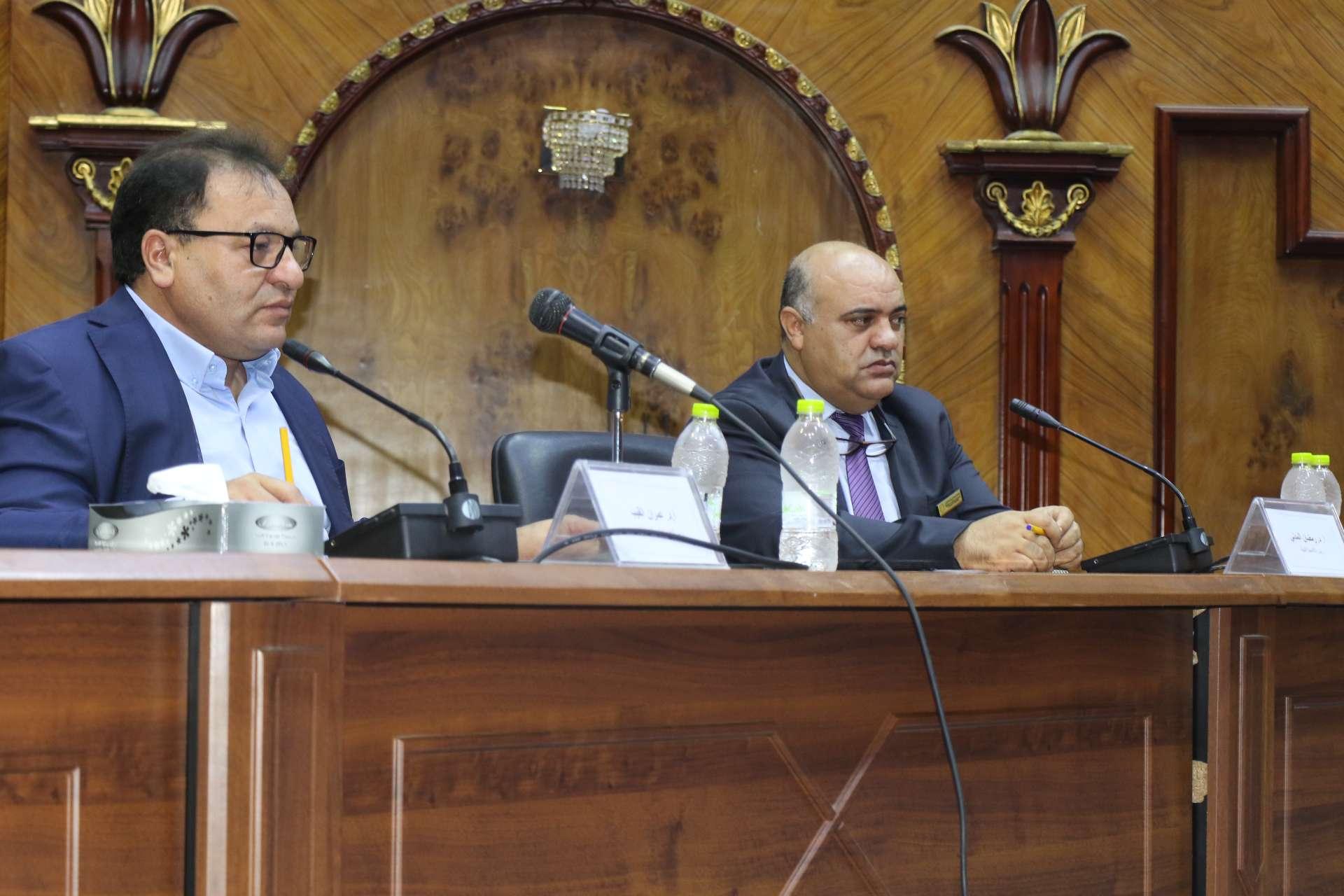 الأكاديمية الليبية للدراسات العليا تستضيف اجتماع وزير التعليم العالي بحكومة الوحدة الوطنية مع اتحاد طلاب الجامعات.